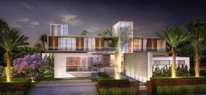 Futuristic House Render